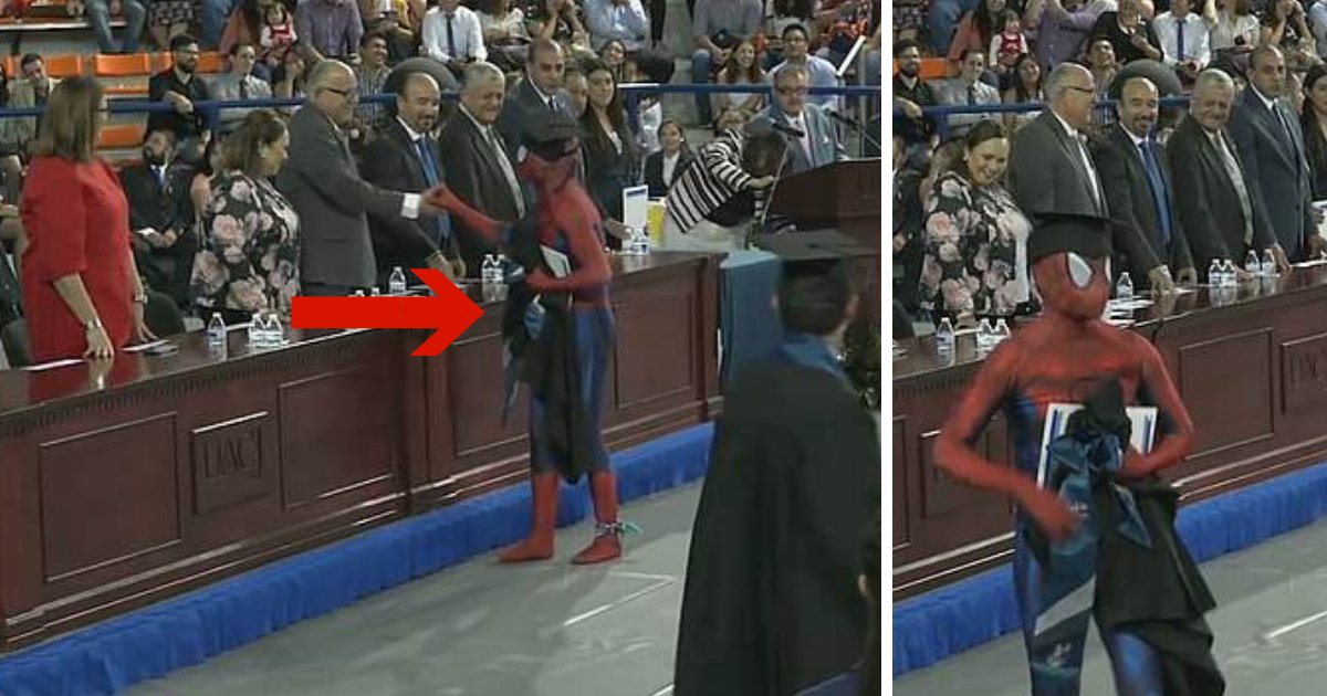 untitled design 64.png?resize=300,169 - Law Student Receives His Degree As Spider-Man To Rebel Against Strict Dress Code