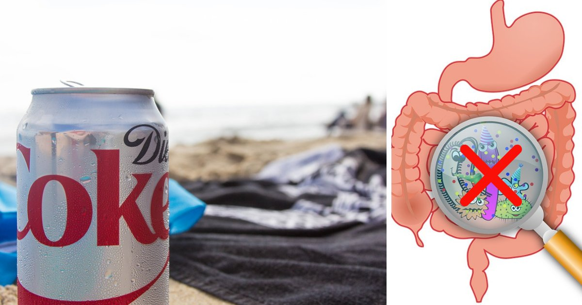 untitled design 71.png?resize=1200,630 - Diet Coke Is Toxic To Gut Bacteria And Dangerous To Your Health!