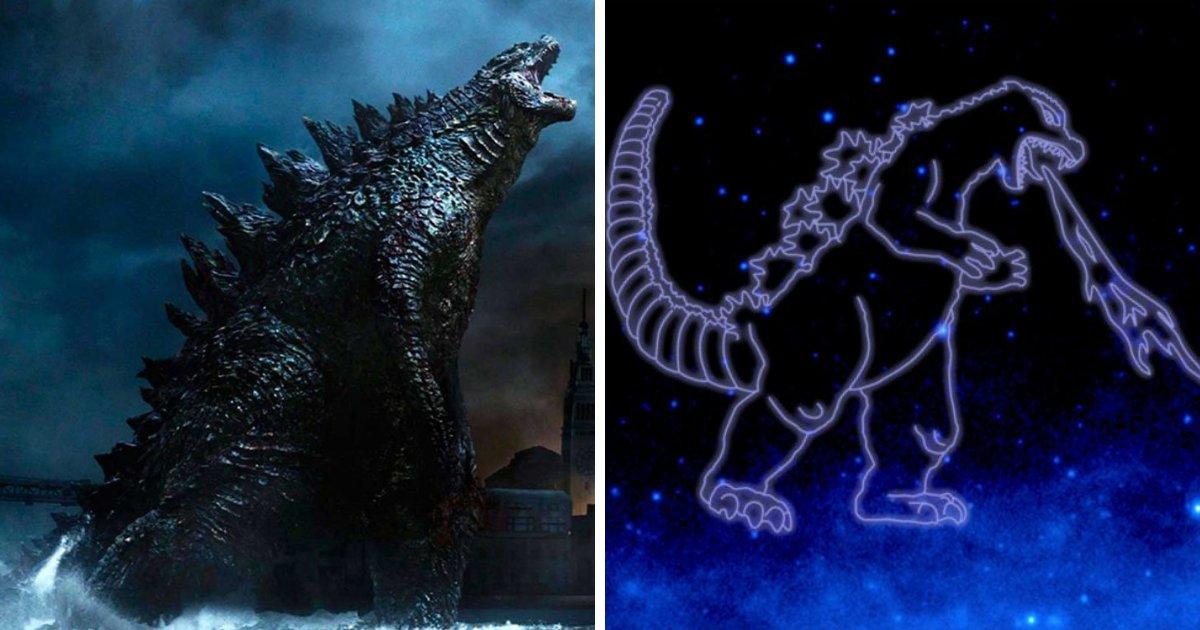 untitled design 89 1.png?resize=412,232 - Godzilla dans le ciel! Une constellation d'étoiles nommée d'après Godzilla par la NASA.