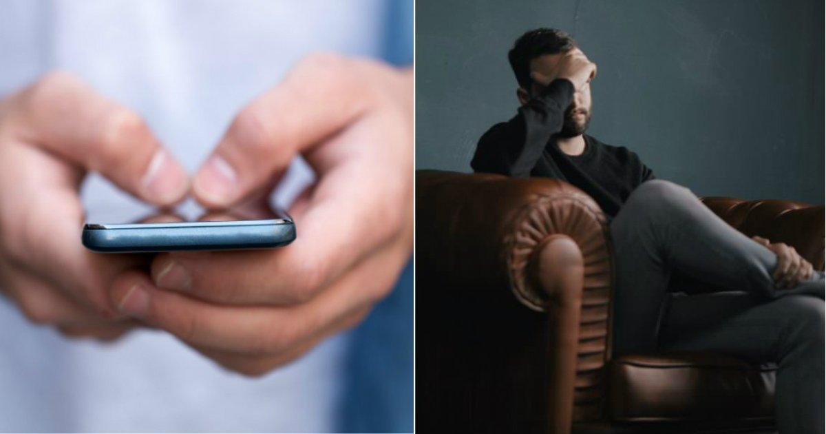 wrong line.jpg?resize=412,232 - Un homme texte accidentellement une compagnie de pâtes au lieu d'une ligne de crise pour la dépression et obtient une réponse réconfortante