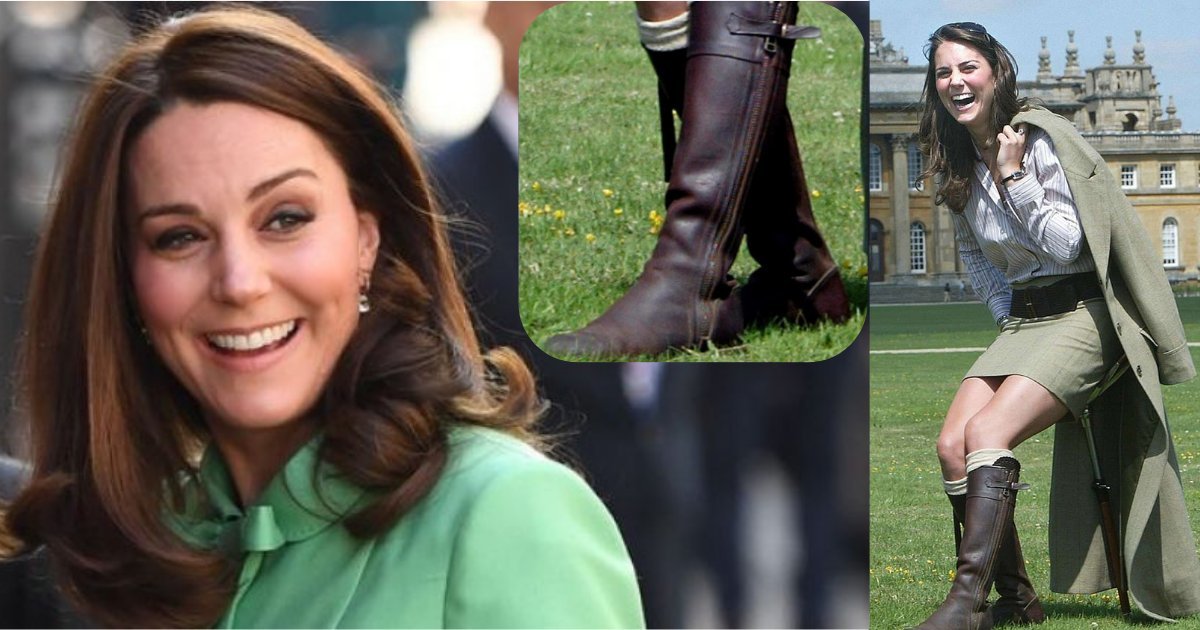 yogesh1 5.png?resize=648,365 - Kate Chooses her 14 years Old Trusted Brown Tasseled Boots to Walk to her Duties as a Duchess gain after returning from the maternity leave