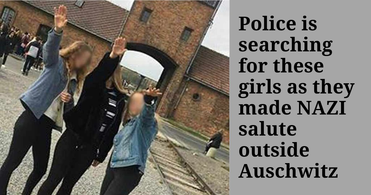 yogesh3 5.png?resize=300,169 - Girls Make NAZI Salutes Posing Outside Auschwitz and Also Pass Offensive Comments