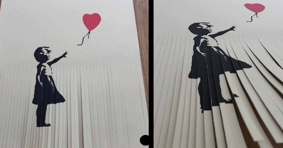 yogesh6 5.png?resize=648,365 - Man Rips his Banksy Print to Double the Worth Amount of £40,000 But Ended up Getting it Worth Just £1