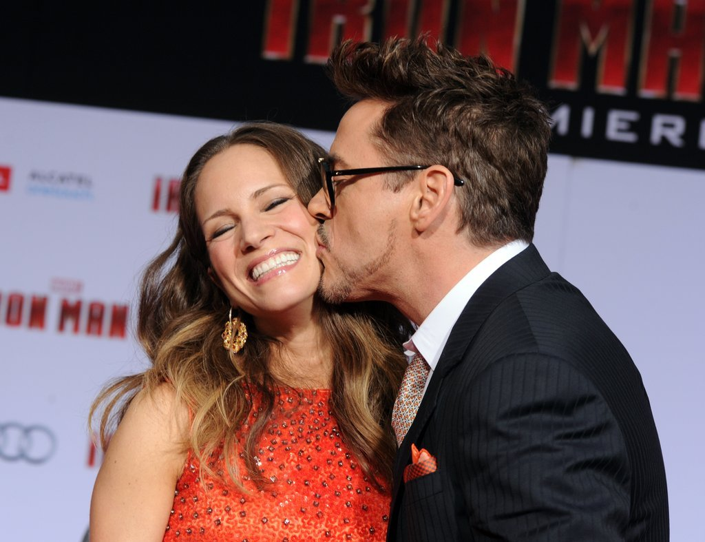 Image result for Robert Downey Jr. and Susan Levin cute