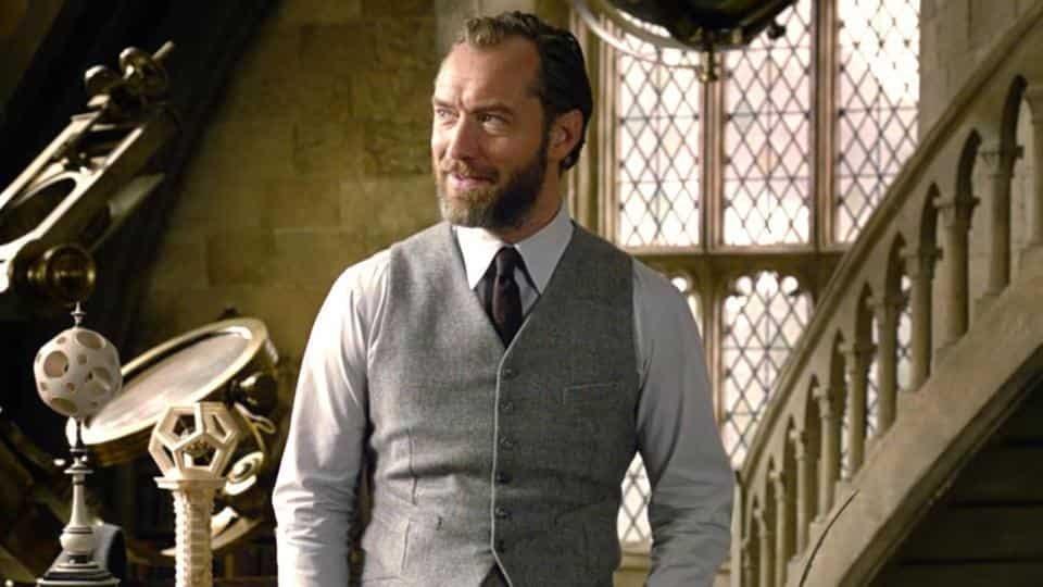Resultado de imagen de dumbledore fantastic beasts