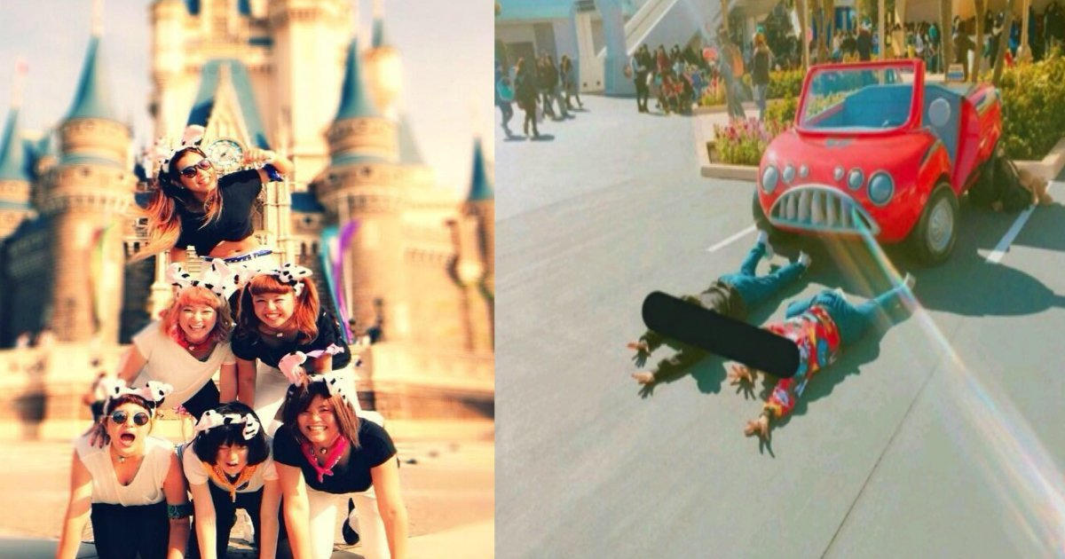 181103 301.jpg?resize=1200,630 - 在迪士尼樂園疊羅漢拍照被阻止!?原來在迪士尼拍照有這些禁忌!