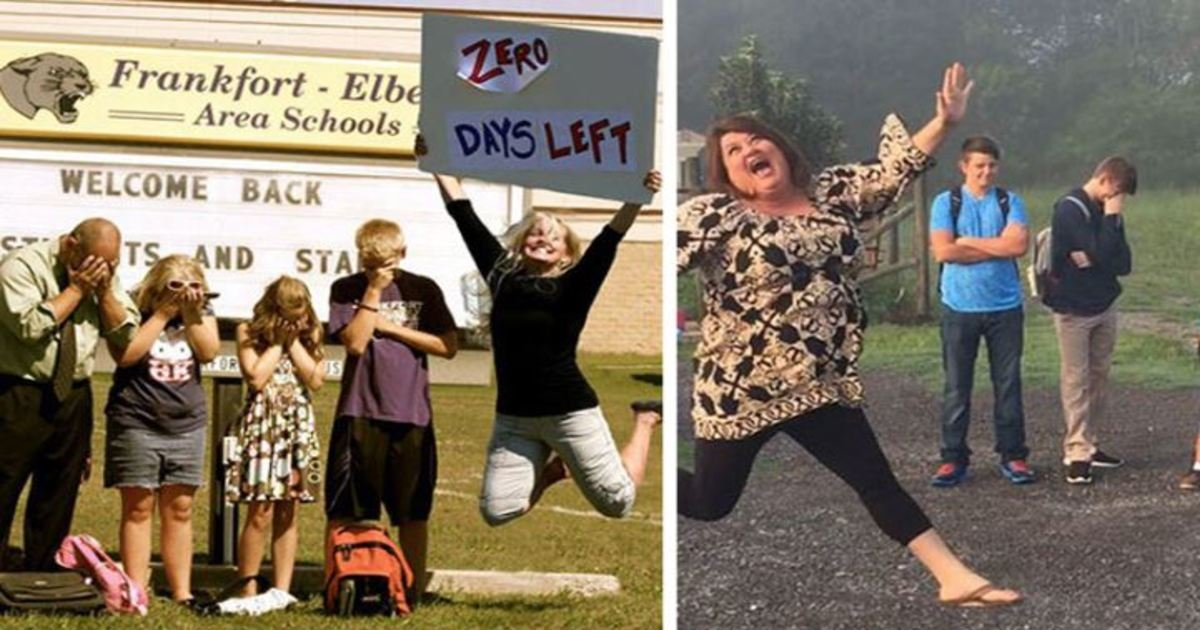 2 85.jpg?resize=1200,630 - 19 Hilarious Photos Of Parents Celebrating The Day Their Kids Go Back To School
