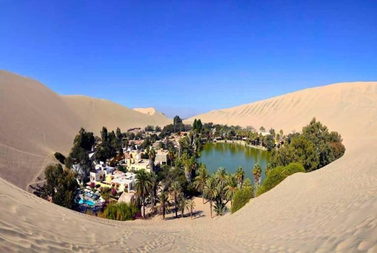 Resultado de imagen de Oasis deHuacachina