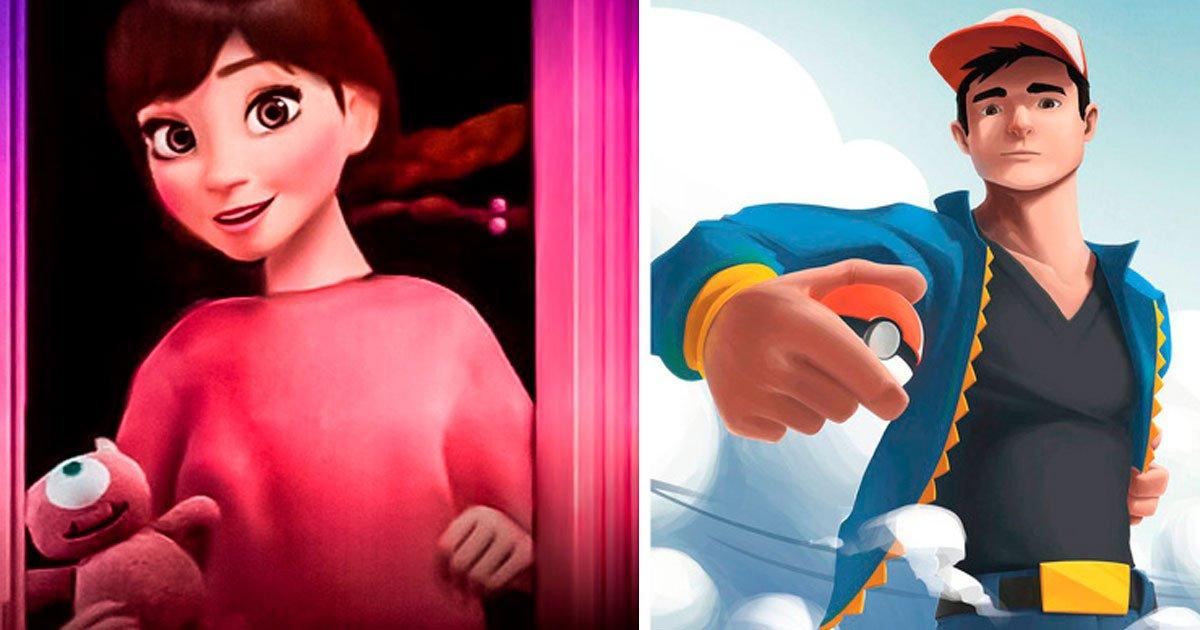 4 145.jpg?resize=1200,630 - Así se verían estos 13 personajes de dibujos animados al crecer