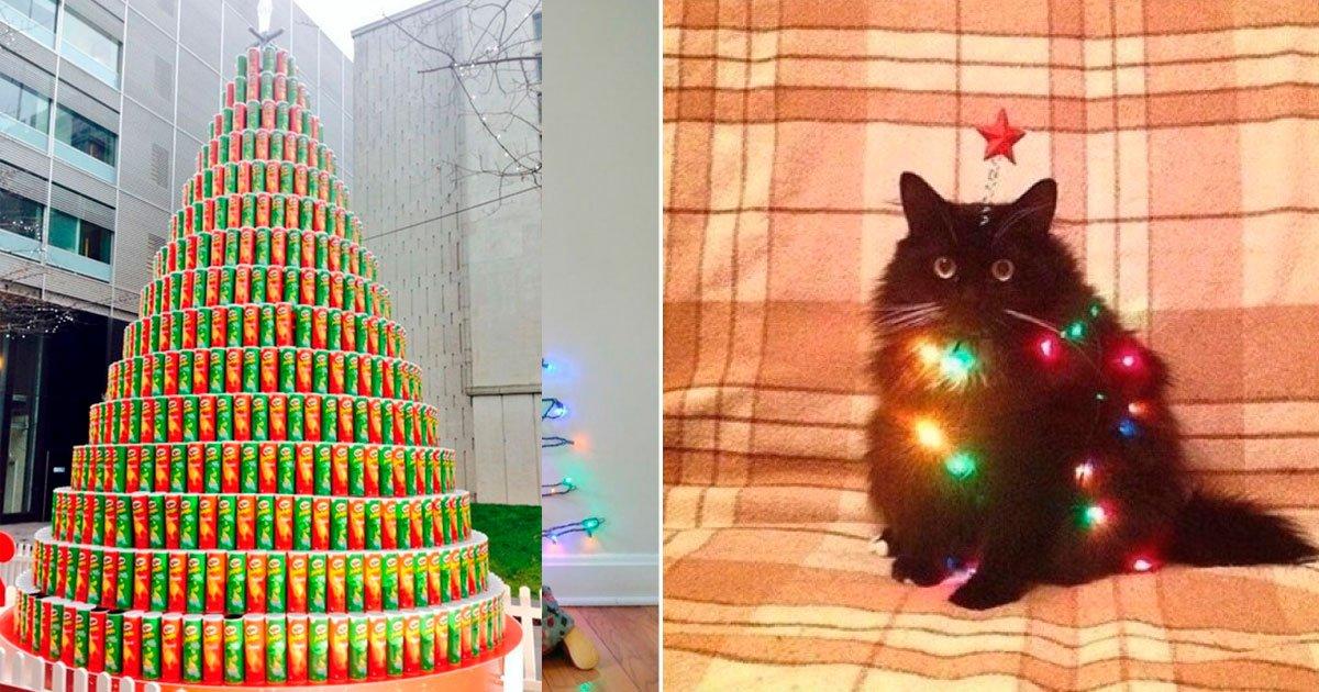 4 210.jpg?resize=1200,630 - 25 Ideas para árboles de Navidad que es mejor no tomar en cuenta