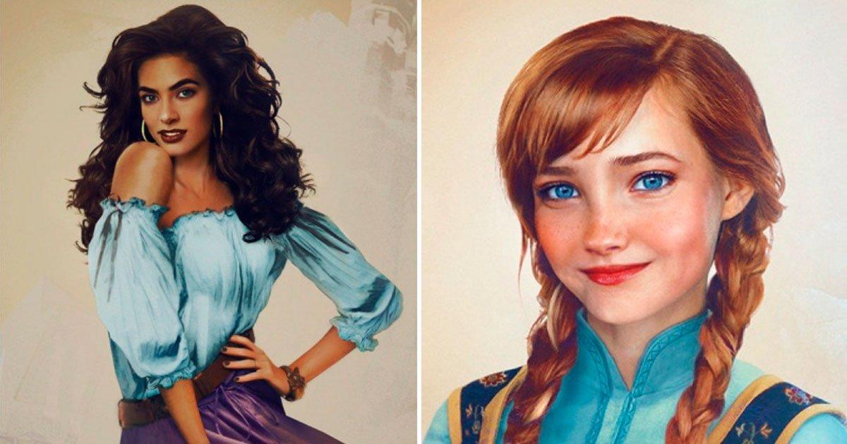 5 116.jpg?resize=1200,630 - Así se verían las princesas de Disney si fueran reales