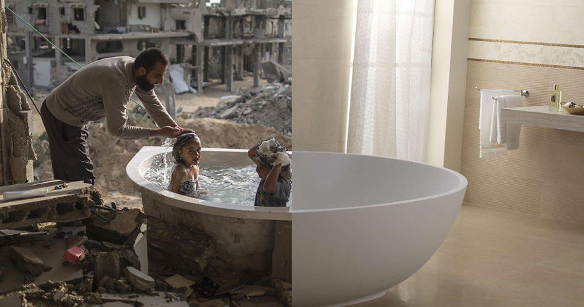 6 209.jpg?resize=412,232 - 우리가 살고 있는 두 세계의 가슴 아픈 차이를 한눈에 보여주는 사진 모음.jpg