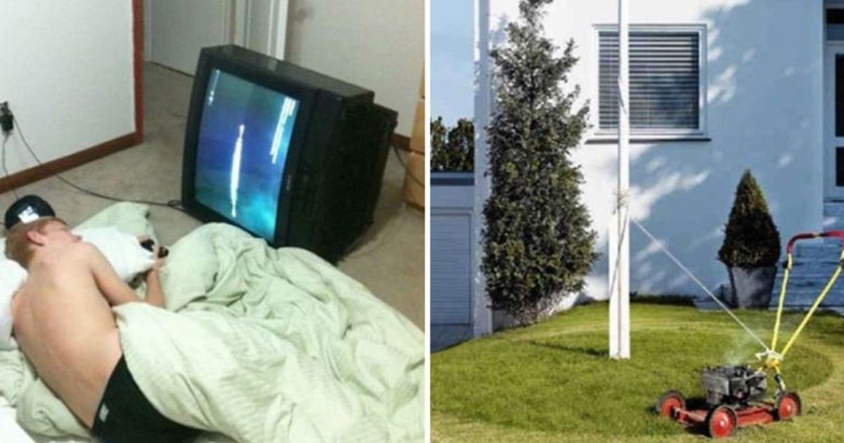 6 53.jpg?resize=1200,630 - 22 genius people who took laziness to a whole new level. #12 went a bit too far, LOL!
