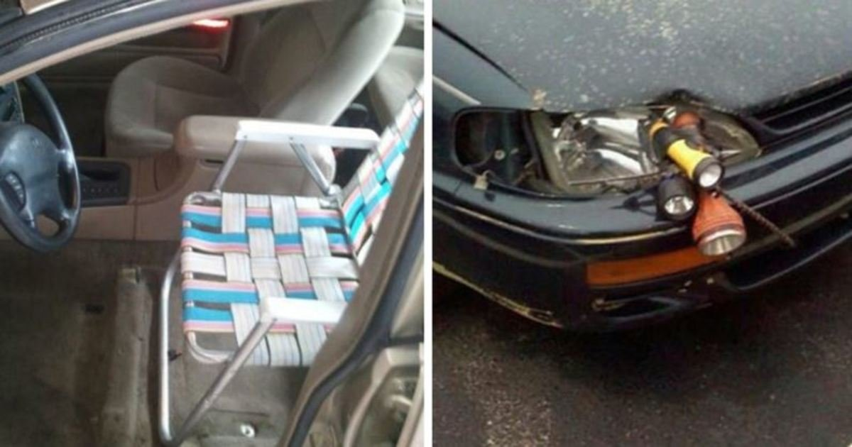 8 41.jpg?resize=412,275 - 20 Hilarious Car Repairs That Are Just Too Brilliant To Be Wrong. #8 Is The Best Ever!