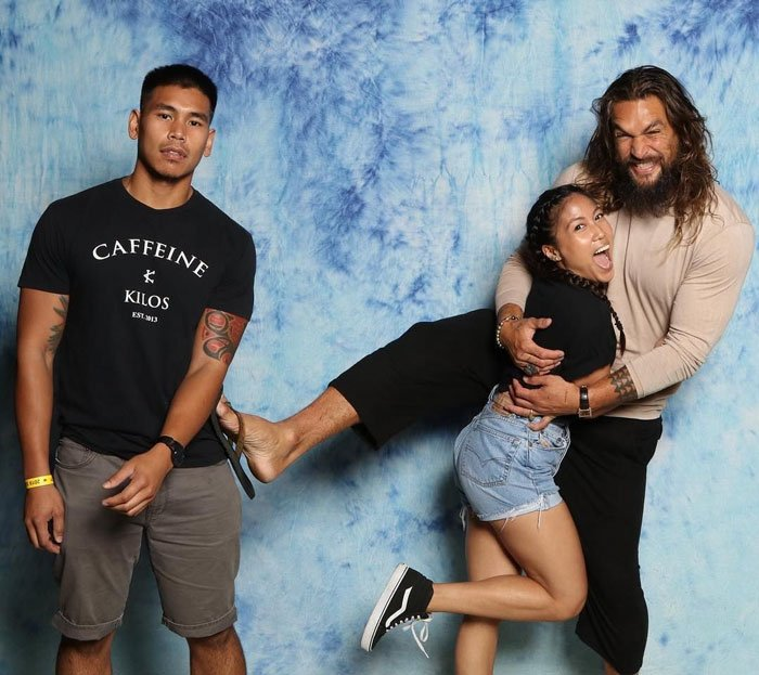 We Get To Meet Jason Momoa Today