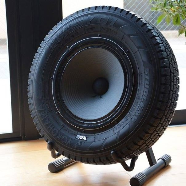 Tyre Subwoofer