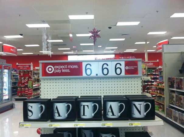 I Think My Local Target Is Trying To Tell Me Something