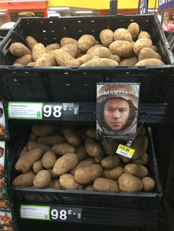 How To Advertise Potatoes