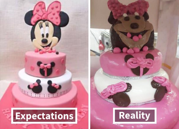 Ordered A Birthday Cake For My Niece