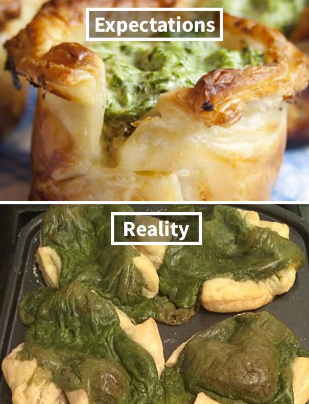 Spinach Cups For Dinner Tonight