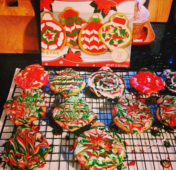 """""""It Looks Like An Elf Exploded Over Your Cookies."""""""