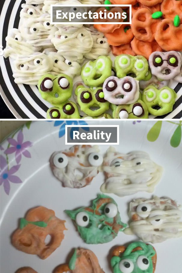 Halloween Pretzels (With The Help Of A 5 Year Old)