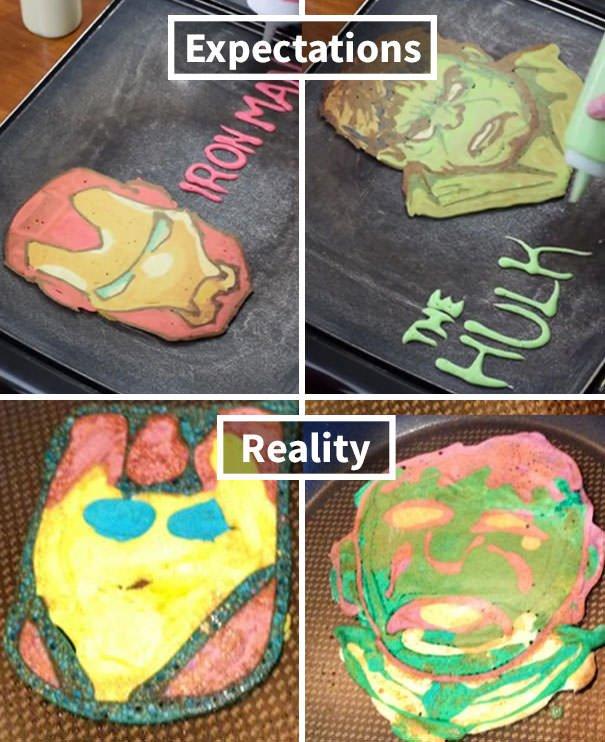 Avengers Pancakes