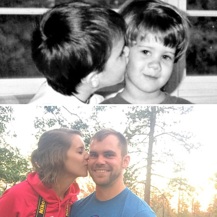 At Age 4, I Whispered Sweet Nothings Into Her Ear. 24 Years Later, We're Getting Married