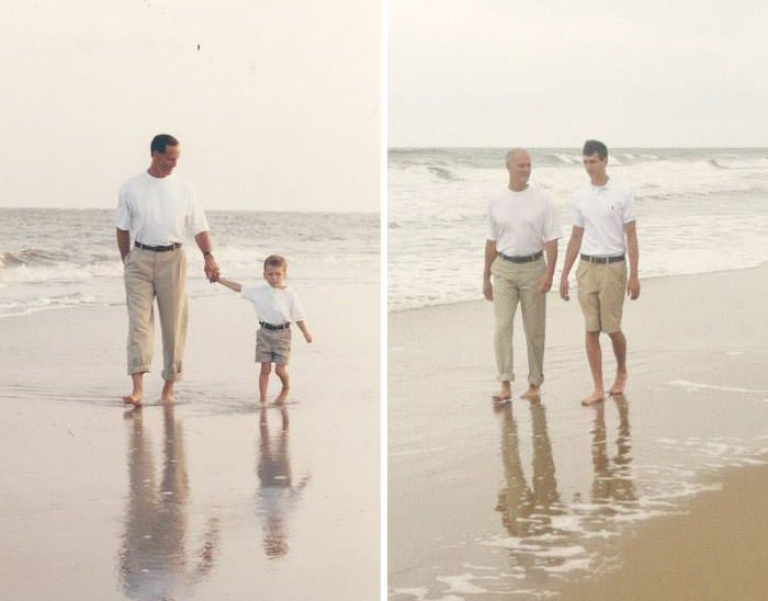 My Dad And I 13 Years Apart