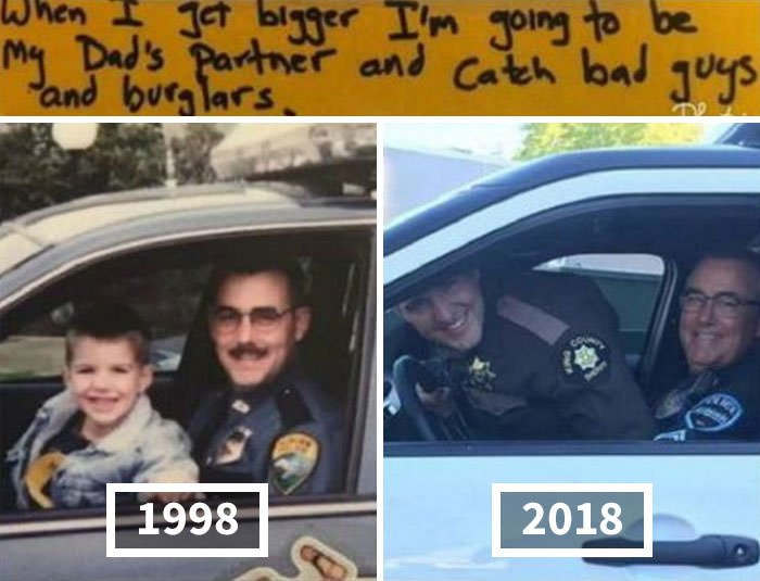 A Son Who Predicted He Would Follow In His Father