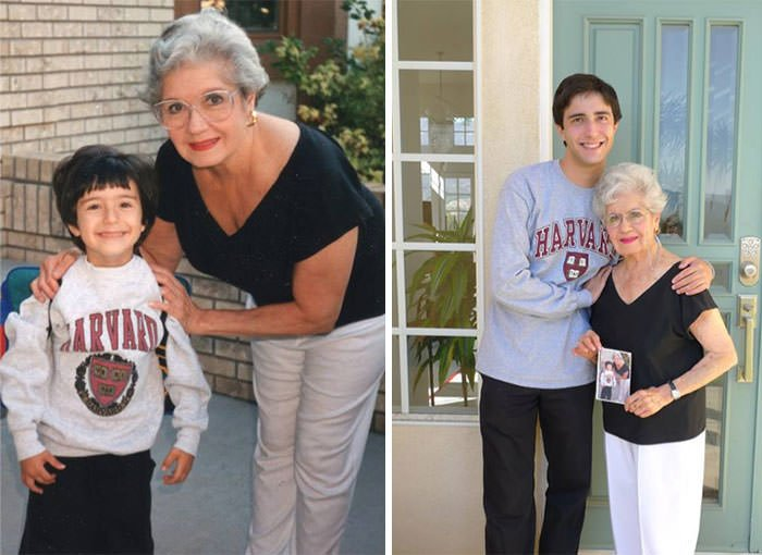 Off To Pre-K With My Grandmother. 19 Years Later, Off To Graduate School