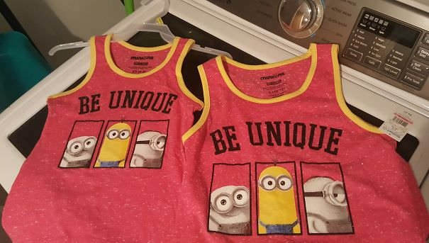 My Wife Got Our Daughters Matching Shirts
