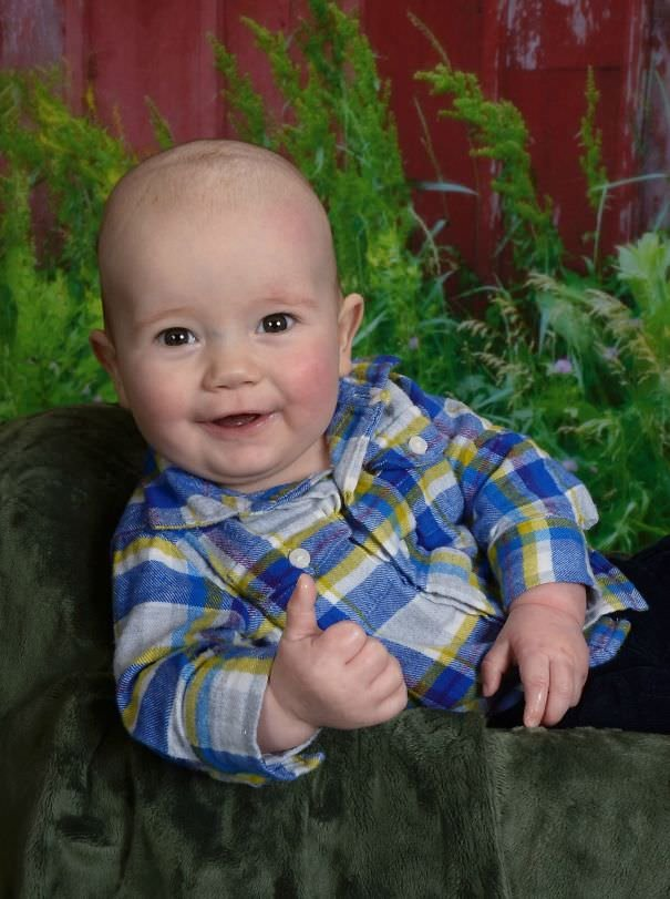 At 5 Months Old My Son Already Has The Best School Photo Ever