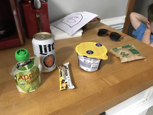 My 4-Year-Old Was So Proud Of The Lunch He Packed For Me