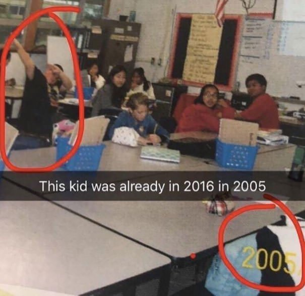 This Kid Was 11 Years In The Future