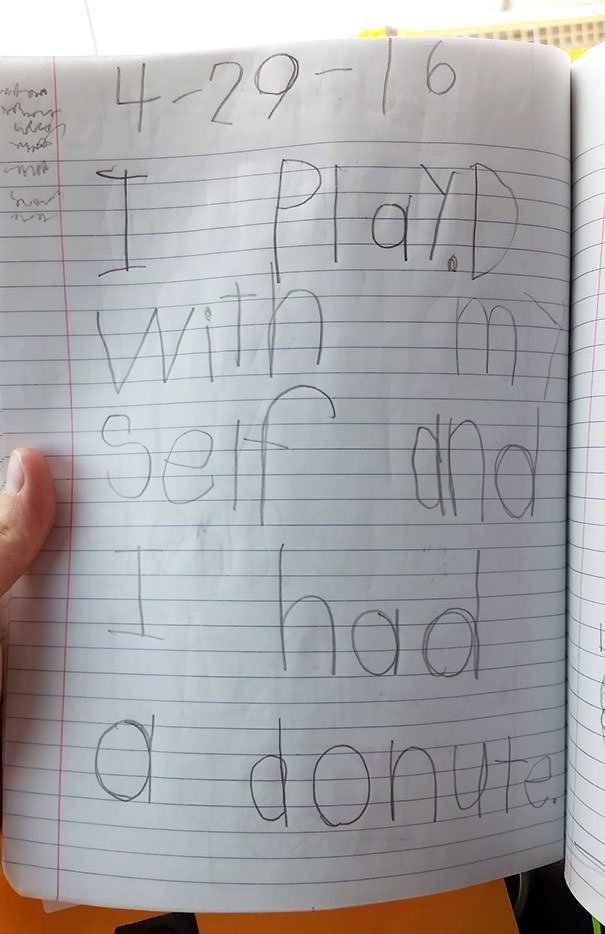 A Journal Entry From My 6-Year-Old