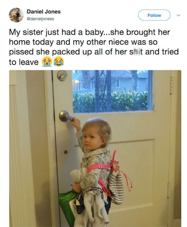 """Toddler Says: """"Heck This"""""""