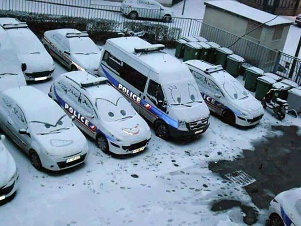 Pixar Presents: Police Cars