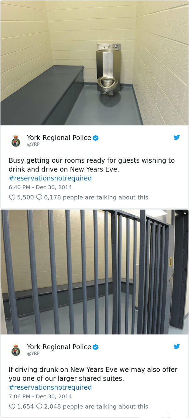 Police Can Be Pretty Humorous