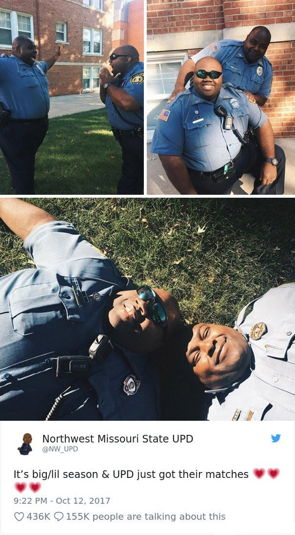 Nwmsu Police Parodying Sorority Sisters Getting Their Matches