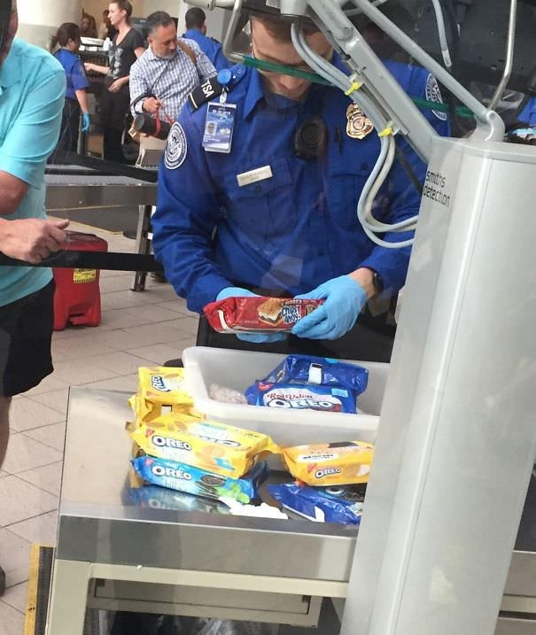 That Time I Saw Someone Try To Smuggle 50 Boxes Of Cookies Out Of The Orlando Airport And Was Treated Like A Drug Lord