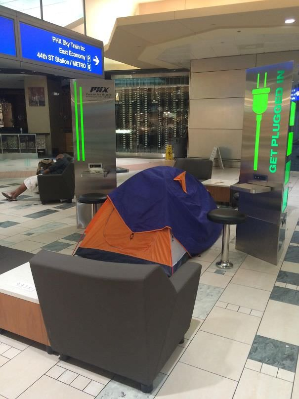 Staying At The Airport Overnight, You