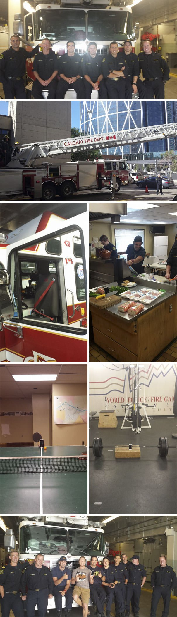 """""""Phone Was Missing For 15 Days. 10 Of Which Were Spent At The Bottom Of The Bow River... Huge Thanks To Calgary Fire Department For Saving Not Just Lives! The Guys Had A Bit Of Fun With It Too"""""""