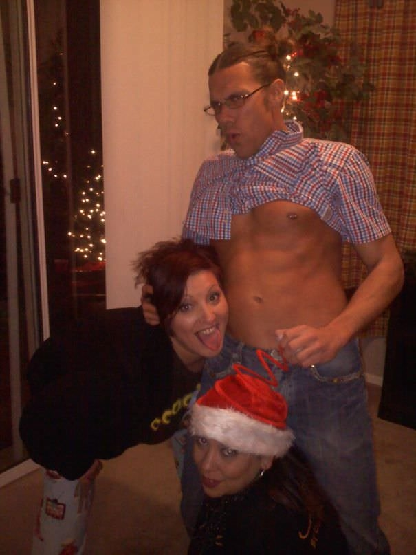 I Lost My Phone For About An Hour At A Christmas Party. Looking Through My Pictures, I Found This. I Don