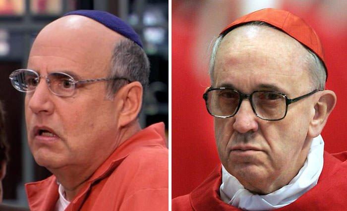 George Bluth Looks Like Pope Francis