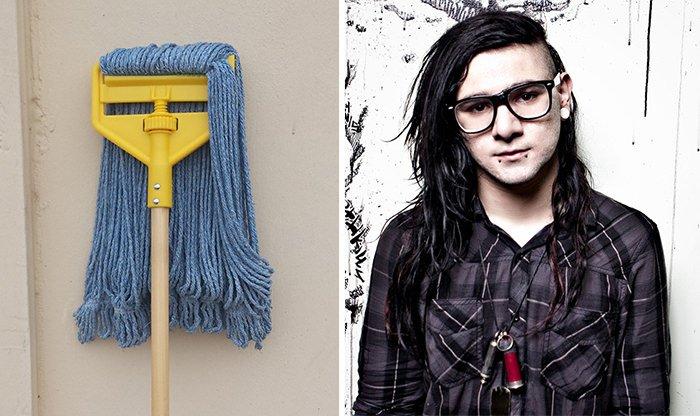 This Mop Looks Like Skrillex