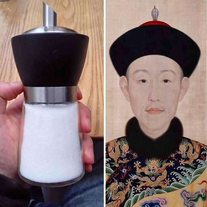 Salt Shaker Totally Looks Like Chinese Emperor