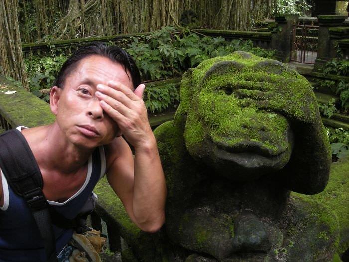 Simian Siblings (monkey Forest Bali)