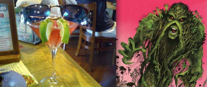 Martini Looks Like Swamp Thing