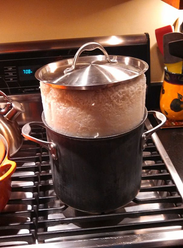 Maybe We Should Buy A Rice Cooker